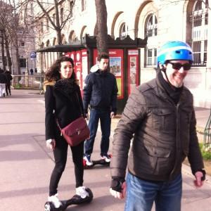 Randonnée à Paris en Hoverboard