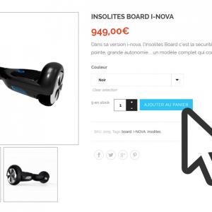 Acheter une insolites Board !