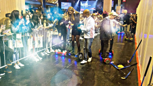 Video city Paris Hoverboard