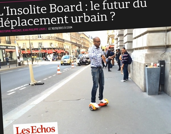The Insolites Board: the future of urban transportation?