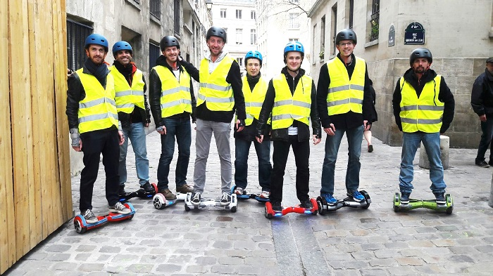 Hoverboard balade Paris