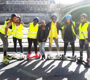 Hoverboard balade Paris