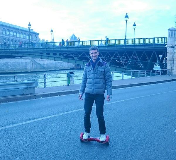 Manuel Herrero Hoverboard