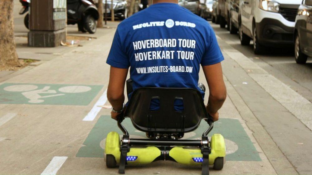 HoverKartTour quais de seine
