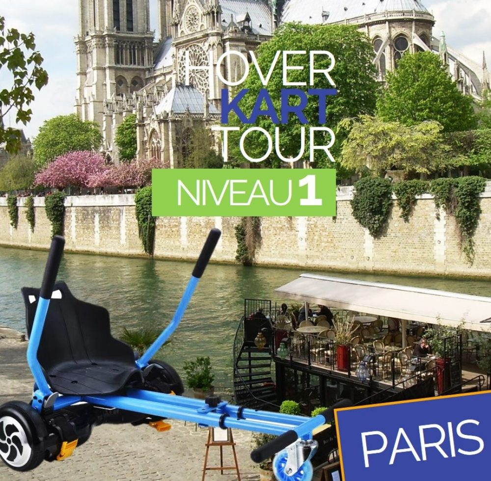 Hoverkart Tour Paris