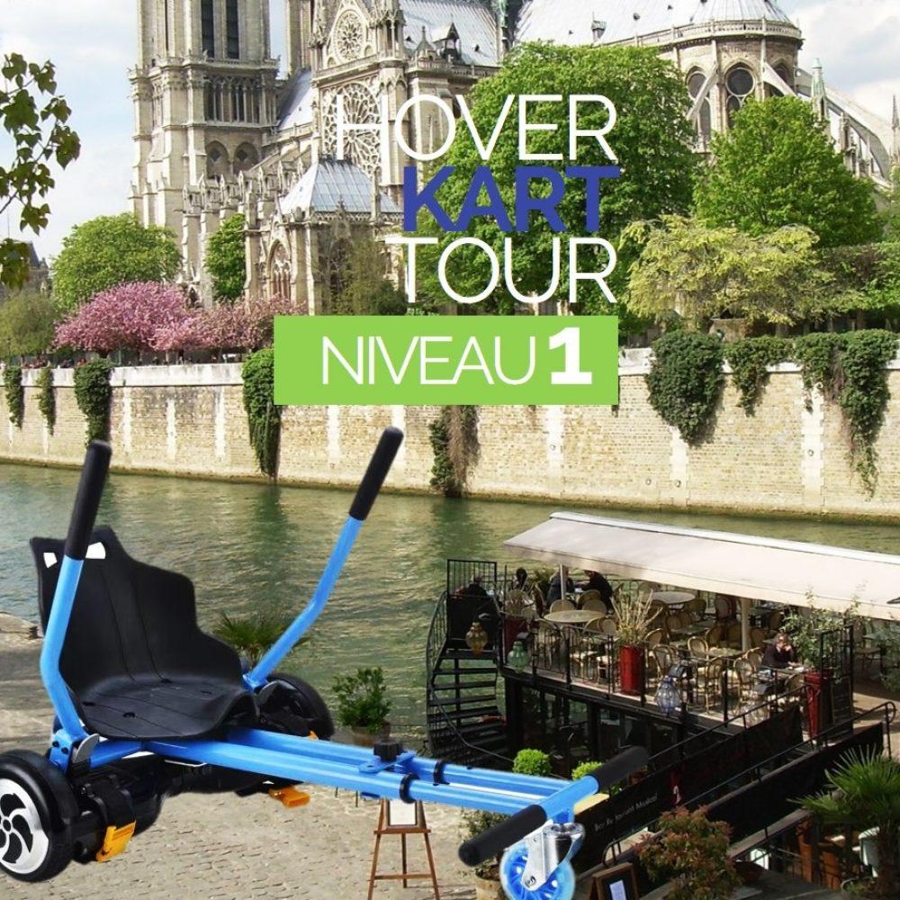 Hoverkart Tour Paris niveau 1
