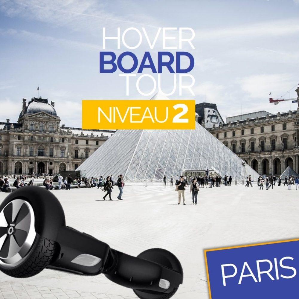 Hoverboard Tour Paris Niveau 2