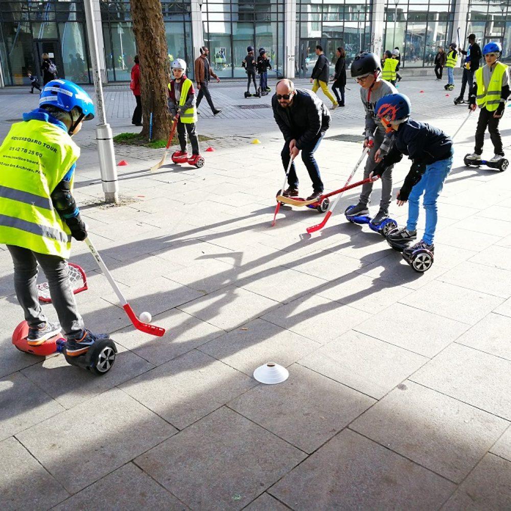 anniversaire eHockey - hockey sur hoverboard