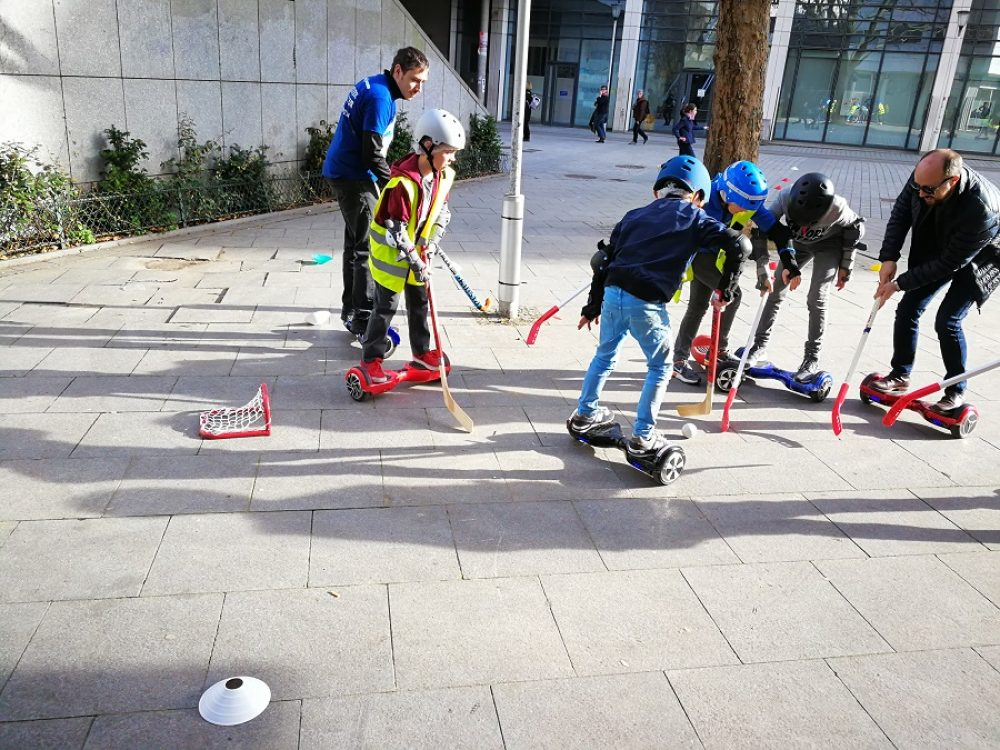 anniversaire eHockey - hockey sur hoverboard
