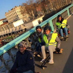 Hoverboard tour Lyon