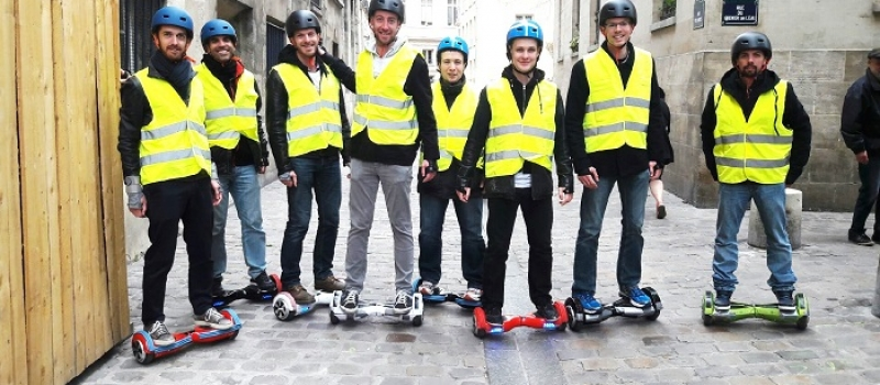 Team Building Hoverboard