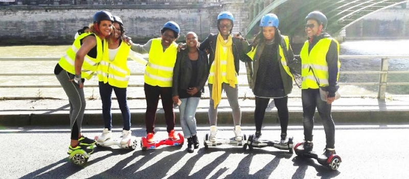 hoverboard enterrement de vie de jeune fille